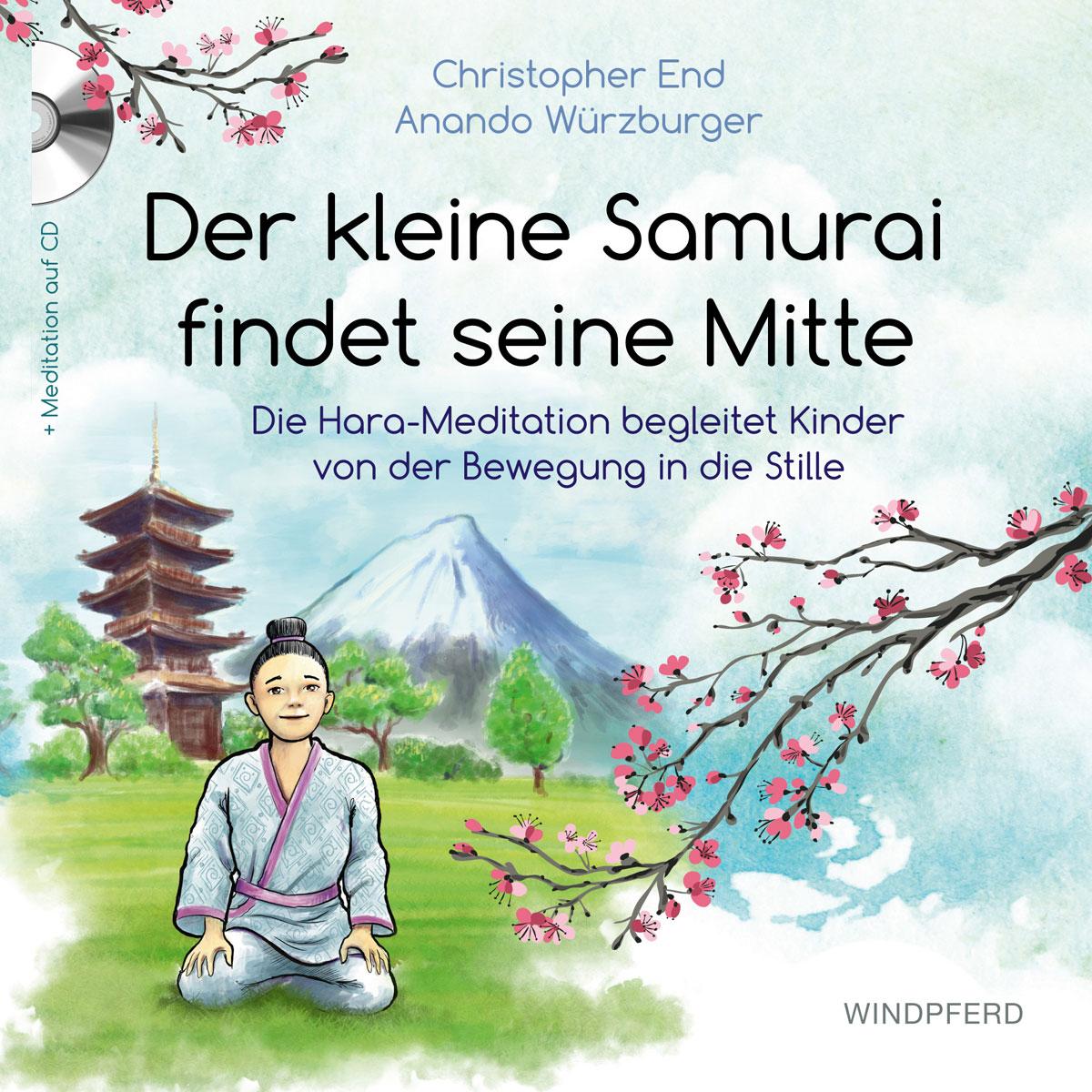Der kleine Samurai findet seine Mitte | Buch-Cover |mit kindern meditieren